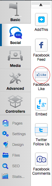 Facebook Like Widget