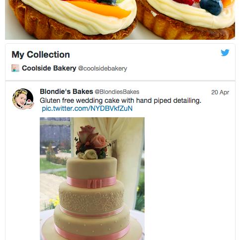 Example Twitter Collection widget