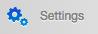 Widgets menu > Settings