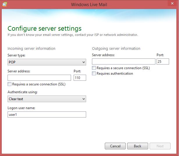 Configurez les paramètres de votre serveur