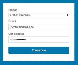 Log in Beta Webmail