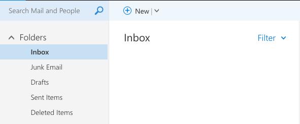 Overzicht e-mails