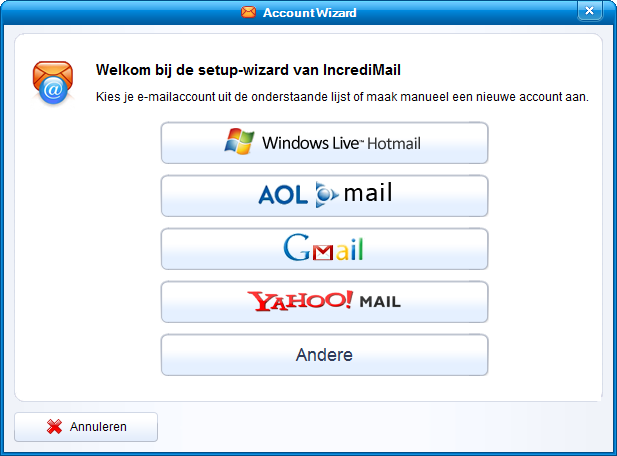 Account Wizard >> andere