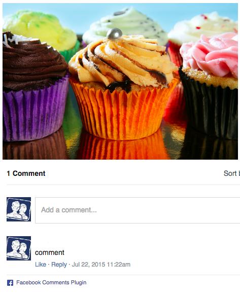 Voorbeeld Facebook commentaar